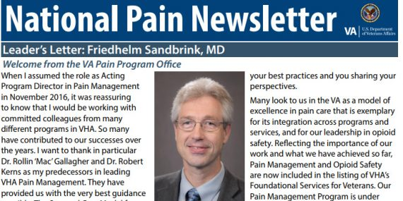 National Pain Newsletter