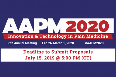 AAPM 2020 Call for Abstracts